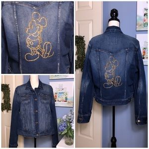 Walt Dinsney World Mickey jean jacket 2XL